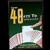 ◆手品?マジック◆40 Ways to Secretly Force A Card◆SM424