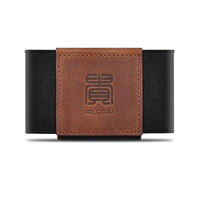 Compact Slim Wallet Minimalist Front Pocket Wallet for Men Women Elastic Card Holder
