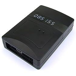 電波時計信号送信機能付き時計(黒) P18-NTPLRBK