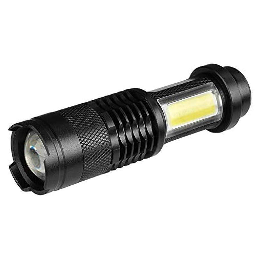かわいらしい勃起噴水volflashy 懐中電灯 ライトトーチ ミニ Zoom XPE + COB LED4 モード IP44 防水 アウトドア キャンプ