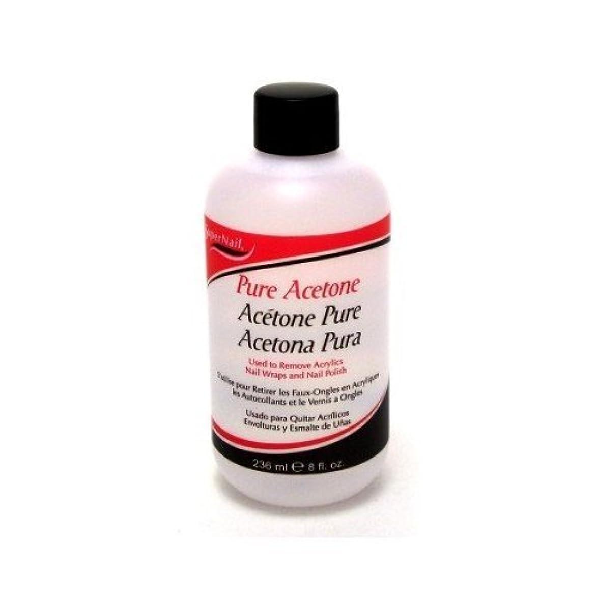 刈り取る率直な靴Super Nail Pure Acetone Polish Remover 235 ml (並行輸入品)