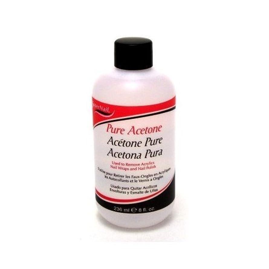 煙突腹痛ご予約Super Nail Pure Acetone Polish Remover 235 ml (並行輸入品)