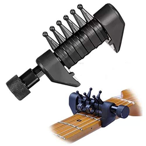 楽器アクセサリー 多機能カポ和音ギター・トーンカポギター弦
