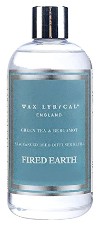 不健全主WAX LYRICAL ENGLAND FIRED EARTH リードディフューザー用リフィル 250ml グリーンティー&ベルガモット CNFE0402