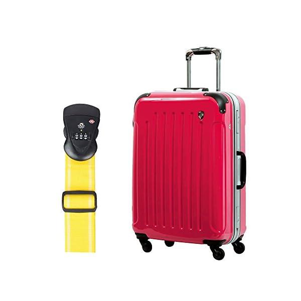 S型 ラディカルレッド+TSAベルト【イエロー】...の商品画像