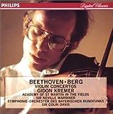 ベートーヴェン、ベルク:ヴァイオリン協奏曲 画像
