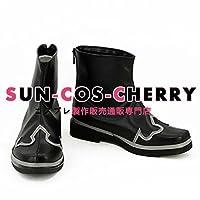 【サイズ選択可】コスプレ靴 ブーツ K-1935 デビルメイクライ4 DEVIL MAY CRY 4 ダンテ 男性26CM