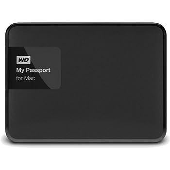 アイ・オー・データ機器 Mac対応 ポータブルハードディスクドライブ 「My Passport for Mac」 2TB WDBCGL0020BSL-JESN