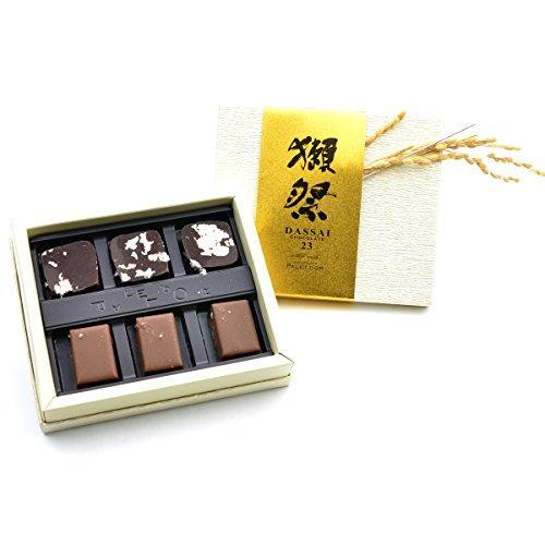 獺祭ショコラ 磨き二割三分使用 チョコレート 6個入り [ショップバッグ付き] バレンタイン ギフト プレゼント