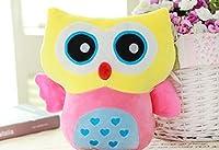 Stuffed Toy Plush人形Lovely Owl Shaped完璧な装飾枕