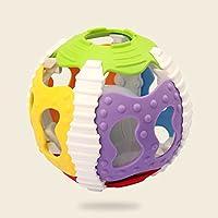 RaiFu ラトルボール カラフル 赤ちゃん 玩具 幼児 ソフト ジングルベル