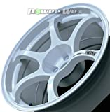 [ホイールのみ単品4本セット]YOKOHAMA WHEEL / ADVAN Racing RGII (WW) 18インチ×10.0J PCD:114.3 穴数:5 インセット:15
