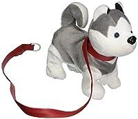 VT My Dancing子犬ハスキー子犬' Walk AlongおもちゃStuffed Plush犬、リアルなダンス& Walking Actions with Music ( Colors May Vary )