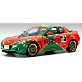 1/18 MAZDA RX-8 LM VERSION ( SPECIAL 787B LIVERY )( LIMITED EDITION 3,000PCS WORLDWIDE )