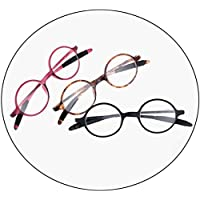 Comfortable Reading Glasses Retro Reading Glasses Fashionable and Comfortable HD Resin Reading Glasses Beautiful (Color : Red, Size : +2.0)