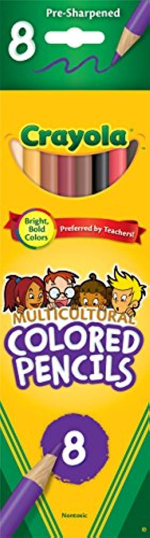 22パックCrayola LLC FORMERLY BINNEY &スミスCrayola多文化Colored