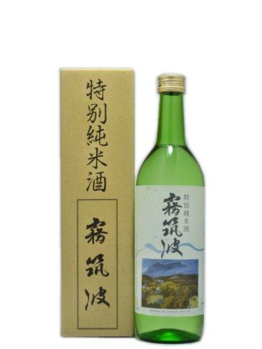 茨城県 浦里酒造 霧筑波(きりつくば) 特別純米 火入れ 720ml