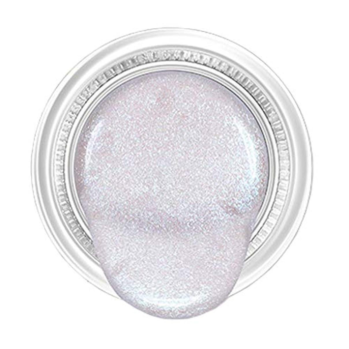 区成長する無効にするSM SunniMix アイシャドウ リキッド シマー キラキラ メイクアップ アイメイク 防水 高度着色 全5カラー - 銀