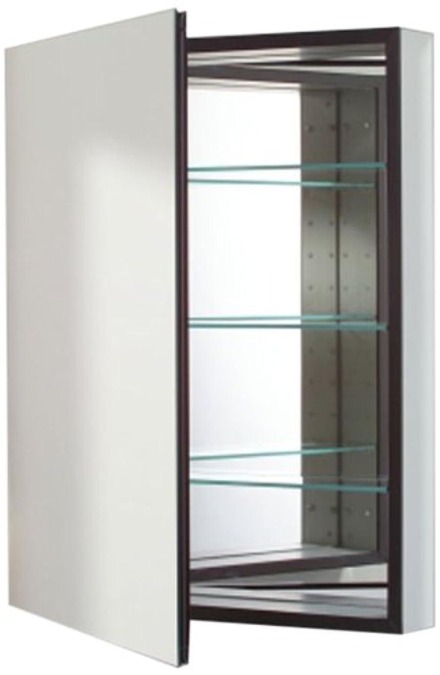 Robern cb-mt24d4fpll Mシリーズ左側フラットミラーMedicine Cabinet with Defogger andライト