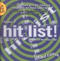 Hits Series 7: Best of November 2002