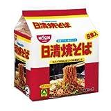 日清焼そば 袋めん 5食パック 1ケース(5P入×6袋 合計30食)