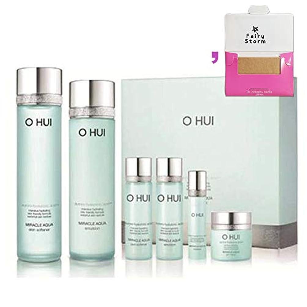 発音健康セラー[オフィ/O HUI]韓国化粧品LG生活健康/O HUI MIRACLE AQUA SPECIAL 2EA SET/ミラクルアクア 2種セット+[Sample Gift](海外直送品)