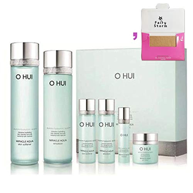 銀行感謝する六[オフィ/O HUI]韓国化粧品LG生活健康/O HUI MIRACLE AQUA SPECIAL 2EA SET/ミラクルアクア 2種セット+[Sample Gift](海外直送品)