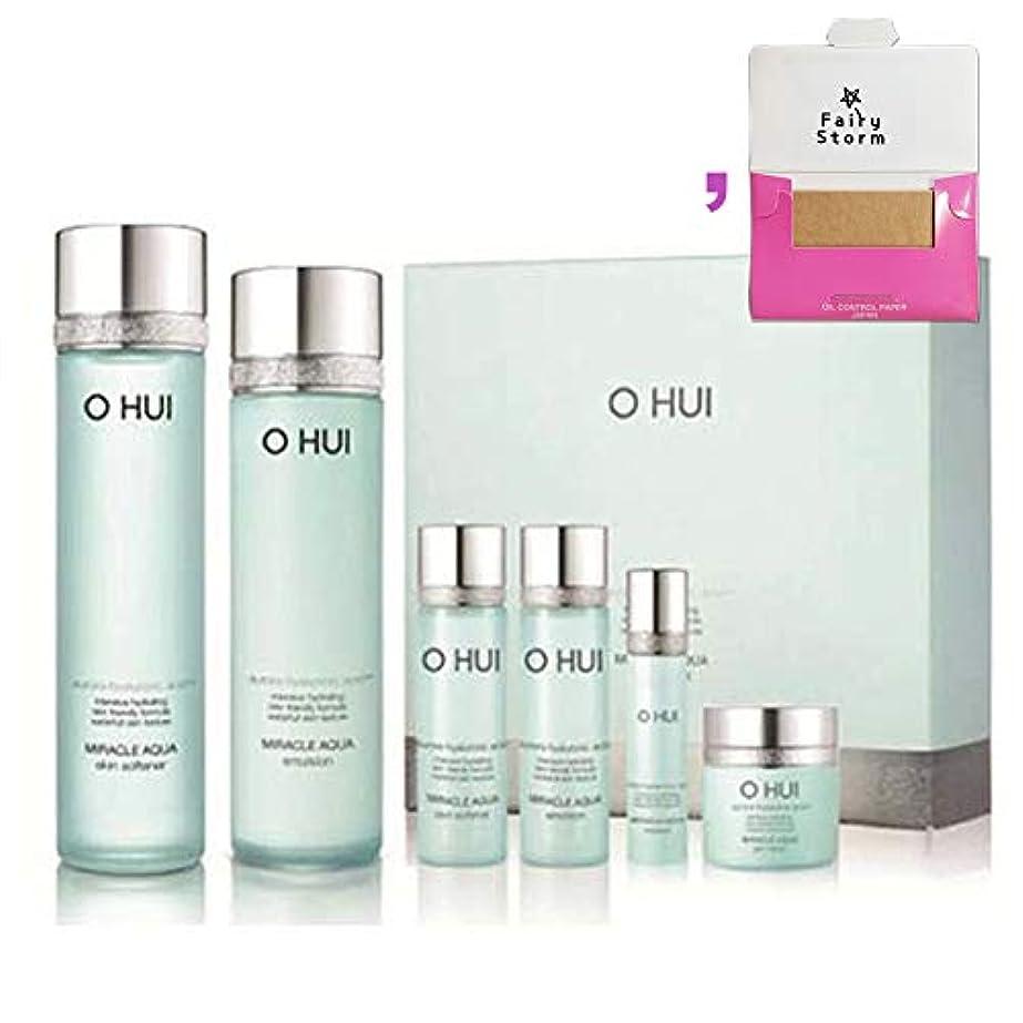 たらい解釈的船乗り[オフィ/O HUI]韓国化粧品LG生活健康/O HUI MIRACLE AQUA SPECIAL 2EA SET/ミラクルアクア 2種セット+[Sample Gift](海外直送品)