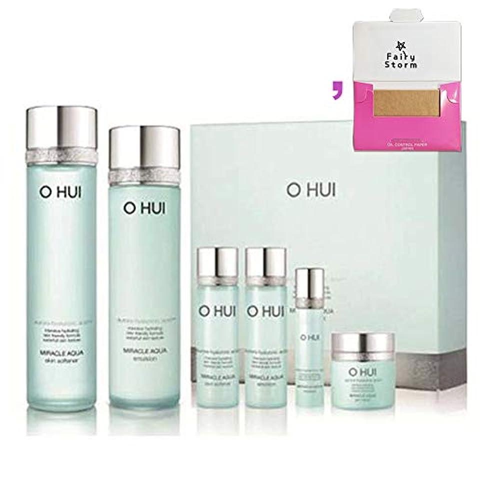 不毛のメタンおもしろい[オフィ/O HUI]韓国化粧品LG生活健康/O HUI MIRACLE AQUA SPECIAL 2EA SET/ミラクルアクア 2種セット+[Sample Gift](海外直送品)
