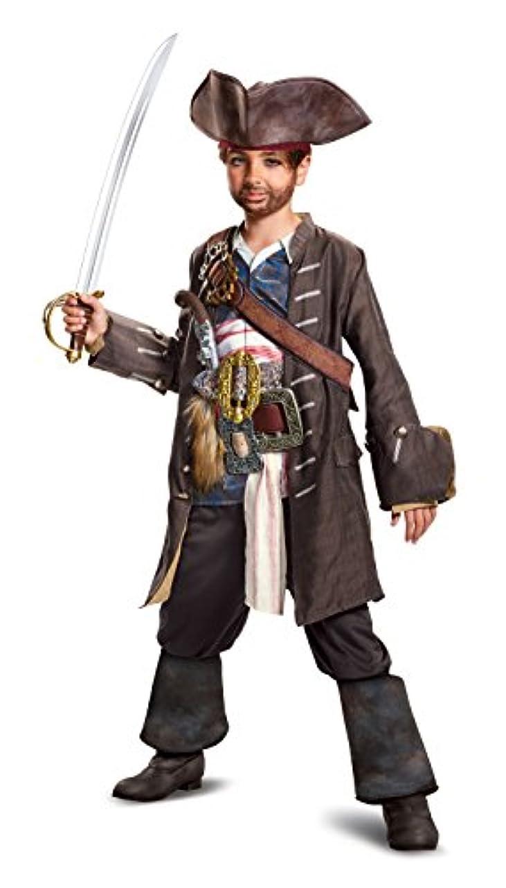 Disguise potc5 Captain Jack Sparrow Prestige Costume Large (10-12) 22914G