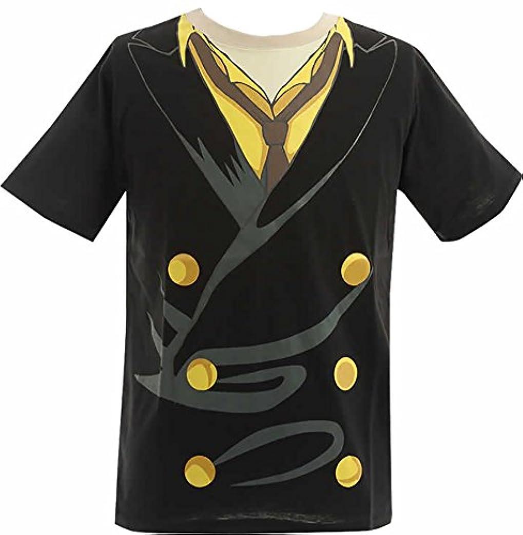 バケット衝突する繊毛(ワンピース)ONE PIECE 大人メンズ なりきり 半袖Tシャツ【12893245】