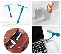 FidgetGear IOSアンドロイドのための携帯用小型USB扇風機の冷却のクーラーの携帯電話 オレンジ