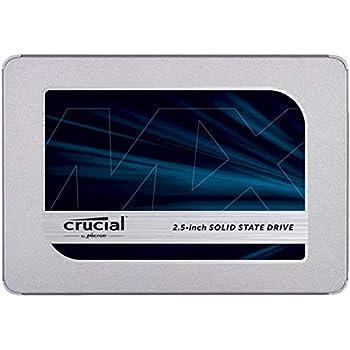 Crucial SSD 1000GB MX500 内蔵2.5インチ 7mm MX500 (9.5mmアダプター付) 5年保証  【PlayStation4 動作確認済】 正規代理店保証品  CT1000MX500SSD1/JP