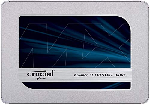 Crucial SSD 500GB 7mm / 2.5インチ MX500シリーズ SATA3.0 CT500MX500SSD1/JP