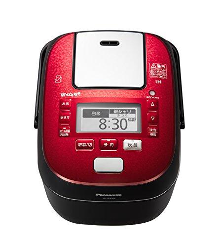 パナソニック5.5合炊飯器圧力IH式Wおどり炊きルージュブラックSR-SPX106-RK