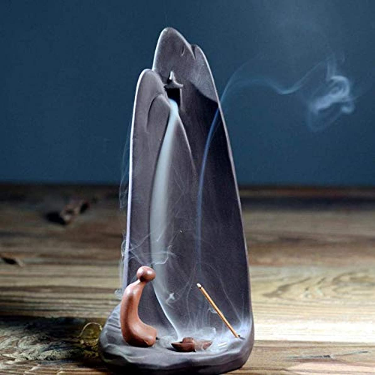 入り口電圧小説デコレーション 10個の逆流香付き逆流香コーンホルダーバーナー