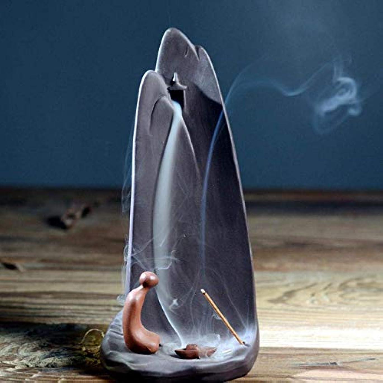 ブースト夢風刺デコレーション 10個の逆流香付き逆流香コーンホルダーバーナー