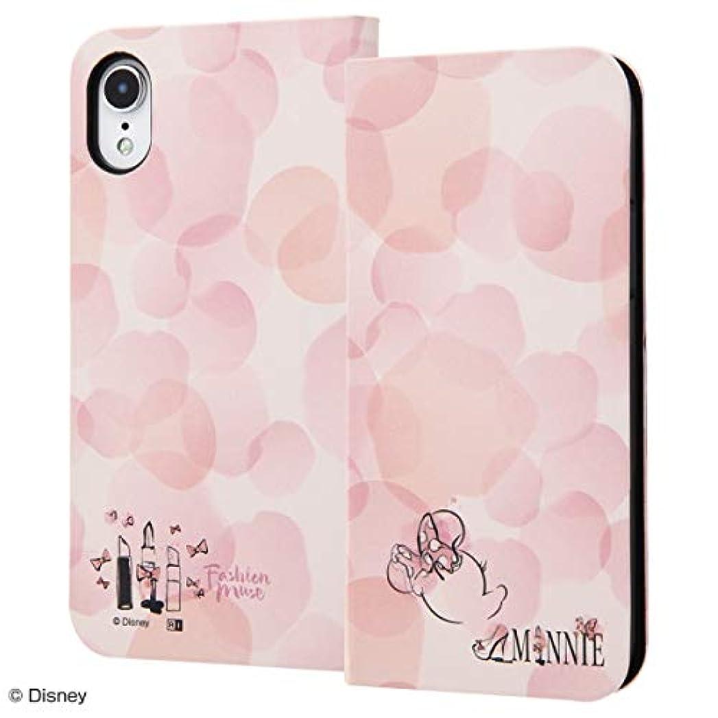 シャイ適応的忠実に【カラー:ミニーマウス】アイフォン iPhone XR ディズニー Disney かわいい 雑貨 キャラクター グッズ/手帳型アートケース スマホケース アクセサリーマグネット スリム/ミニーマウス_016 in-dp18mlc3_mn016