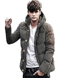 (マガザンレーブ) mgzan rev メンズ ファッション 冬 服 カジュアル ダウン ジャケット アウター フード 付き 防寒着 上着 3 色 M ~ XL DA-5