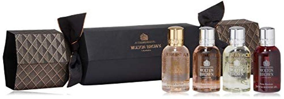 市民権エッセイ豚肉MOLTON BROWN(モルトンブラウン) フローラル&シプレ クラッカー セット 50ml×4本