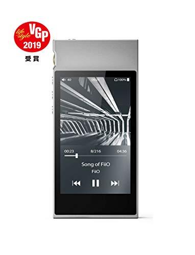 フィーオ ハイレゾ・デジタルオーディオプレーヤー(シルバー)4GBメモリ内蔵+外部メモリ対応FiiO M7 FIO-M7-S