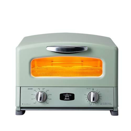 グラファイト グリル&トースター 4枚焼き アラジン AGTーG13A ワンサイズ グリーン