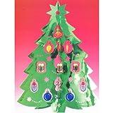 【クリスマス装飾デコレーション】ハンギングデコレーション ツリートリミング フォイル(1パック)  / お楽しみグッズ(紙風船)付きセット