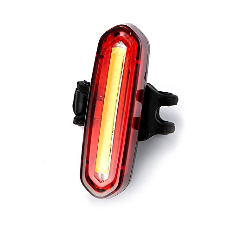 嘆くさらに極めて重要なQZSKY 自転車テールライト USB充電式led セーフティーライト 超高輝度LED テールランプ バイクの安全リアライト 赤色 4種点灯モード 防水 600mahバッテリ内層