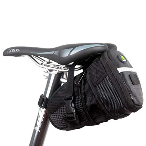 [BEATONJAPAN] サドルバッグ 自転車 フレームバッグ ロードバイク 大容量