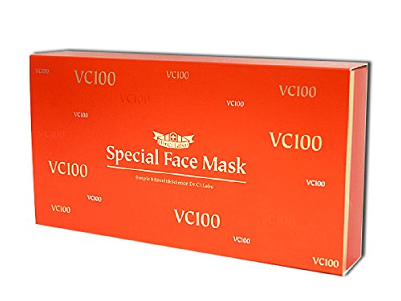 変装金属縫い目ドクターシーラボ Vエッセンスローションフェイスマスク 20枚入り