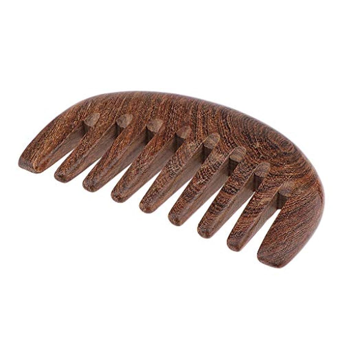 昇る悲しむ水陸両用くし コーム 木製 櫛 美髪ケア ヘアケア ヘアコーム 頭皮マッサージ 3色選べ - クロロフォラ