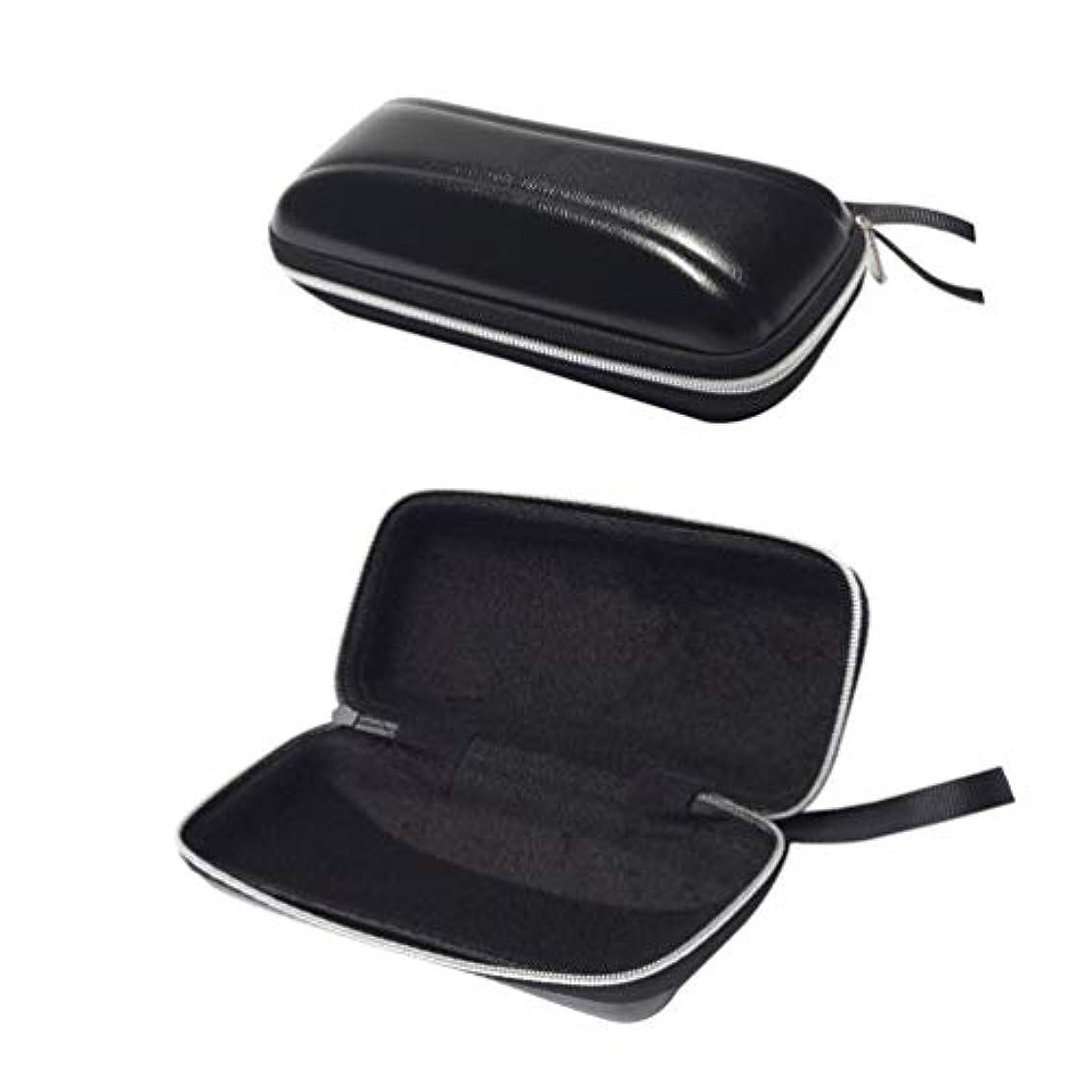 争い受信機素晴らしいHealifty フック付き2ピース旅行ジッパーサングラス眼鏡ケースボックスバッグ