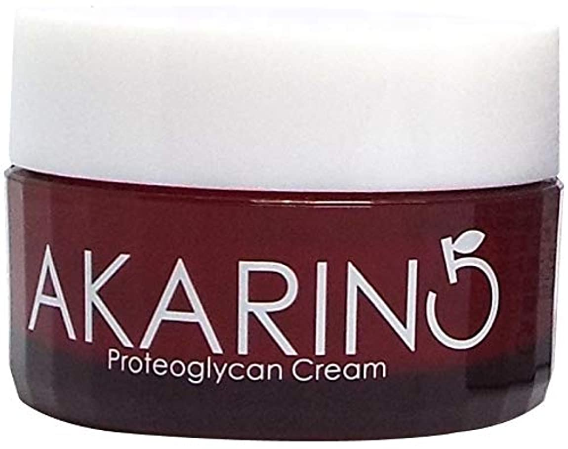 危険な平凡終了するプロテオグリカン配合フェイスクリーム 30g AKARIN5