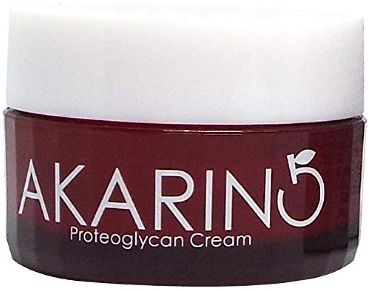 要件マーチャンダイジング延期するプロテオグリカン配合フェイスクリーム 30g AKARIN5
